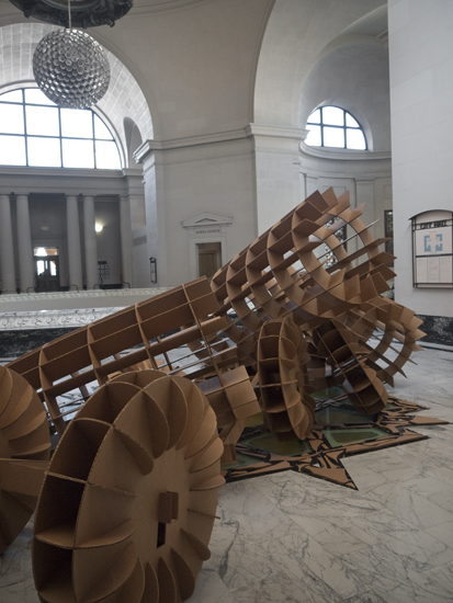 installed at Oakland City Hall